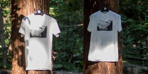 "coif × photo t-shirt program "" IMAGINATE BY coif ""..."